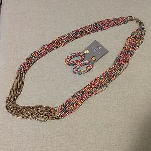 ETEREO Jewelry - Necklace with Eating NWOT